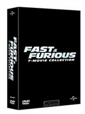 Fast & Furious 7-Movie Collection (7 DVD) - ITALIANO ORIGINALE SIGILLATO -