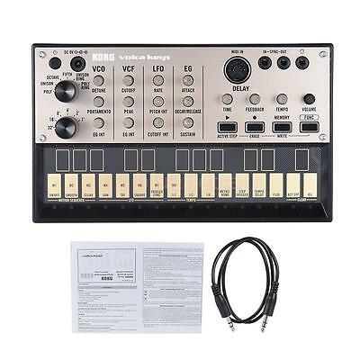 KORG VOLCA KEYS Synthesizer Portable Analog Delay Effect Loop Sequencer New X8P6