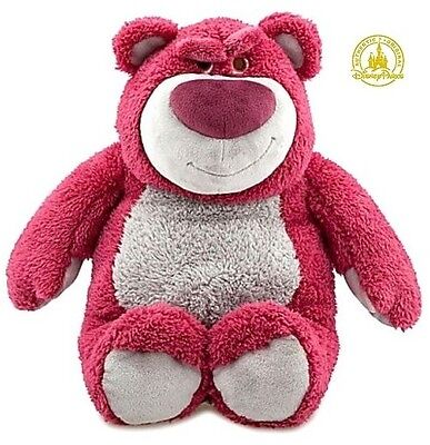 "NEW Lotso Huggin Bear Disney Pixar Toy Story 3 Exclusive 15"" Deluxe Plush Figure"