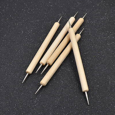 5 Pcs Depict Pen Home Handmade Tool Leather Craft Supplies Leather Engraving Pen