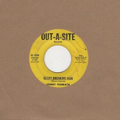 Sonny Fishback - Heart Breaking Man / I Won't Take Out A Site northern soul