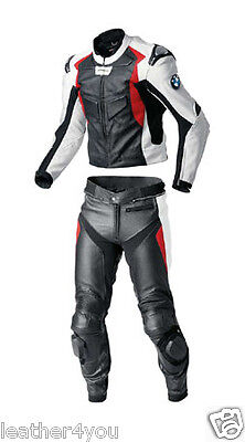 Bmw Racing Motorbike Leather Suit Moto Gp Mens Motorcycle Leather Jacket Trouser