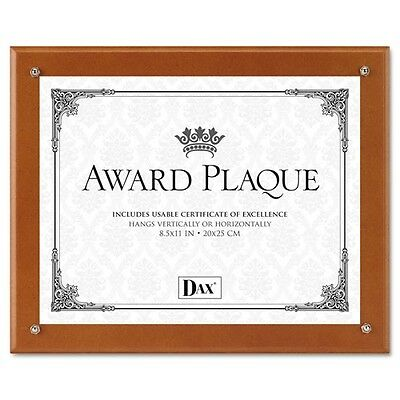 DAX Plaque-In-An-Instant Kit with Certificates & Mats - N100WT