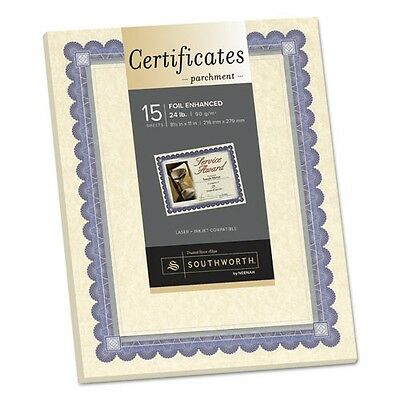 Southworth Refill Foil-Enhanced Certificates - CT1R