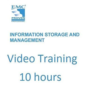 EMC Information Storage and Management Video Training 10 hours