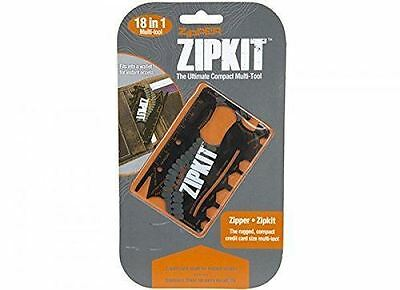 Zip kit 18 in 1 Pocket Multi-Tool Credit Card Bottle Opener Screwdriver Outdoor