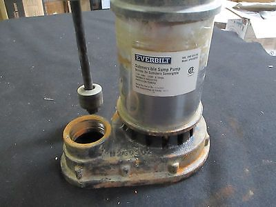 Everbilt 1/3HP Sump Pump Submersible Stainless Steel