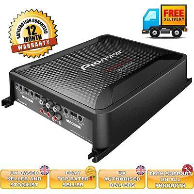 PIONEER GM-D8604 - 4 Channel Amp 1200W Car Audio Multi/Stereo Power Amplifier