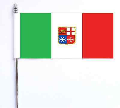 Italy Civil (Merchant) Ensign Ultimate Table Flag