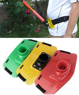 Stand Up Fishing Adjustable Fighting Belt Gimbal Thick Sponge Pad Rod Holder