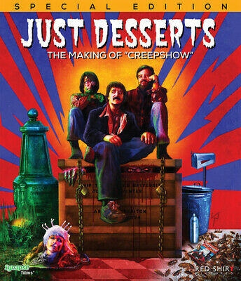 Just Desserts: The Making Of Creepshow (2016, Blu-ray NEW)