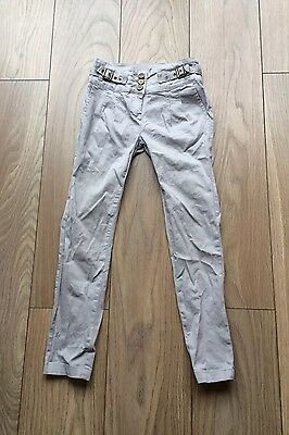 Girls Grey Age 9-10 Years Young Dimensions Cargo Trousers