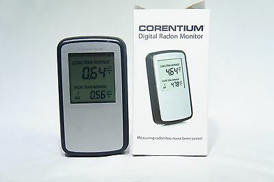 Corentium 223 Digital Electronic Radon Gas Monitor, Detector, Tester, EXCELLENT