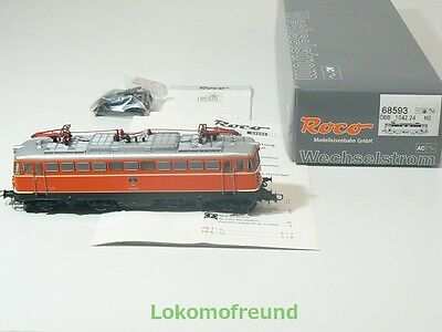 ROCO H0 68593, E - Lok BR 1042 orange, ÖBB, für Märklin AC, digital, sound, OVP