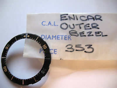 Enicar Ladies Reference 353 Outer Bezel