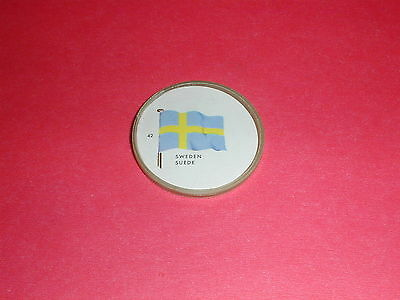 Flags of The World Coin #42 Sweden - General Mills Inc.