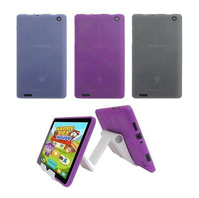 "View Stand Holder + TPU Skin Case Cover for Insignia Flex 8"" NS-P08A7100 Tablet"