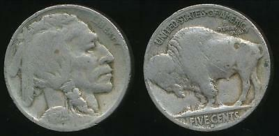 United States, 1929-D 5 Cents, Buffalo Nickel - Very Good