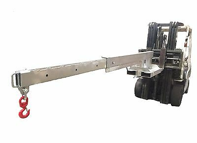 Forklift fixed Jib 2.5 Ton Zinc Plated Extents to 3.5m Negotiable Sydney Stock