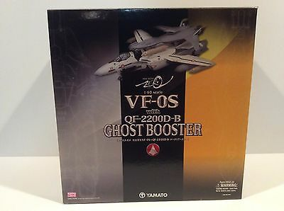 Yamato Macross Zero 1/60 Scale VF-0S with QF-2200D-B Ghost Booster Brand New