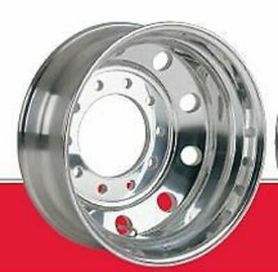 Rim Aluminium Polished 10 Stud 335mm PCD (Euro) 22.5x8.25 to suit truck trailer