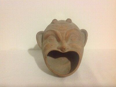 Pottery Devil Trinket Change Dish
