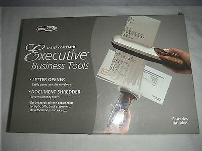 Inno Desk Battery Operated Executive Business Tools, Letter Opener & Document