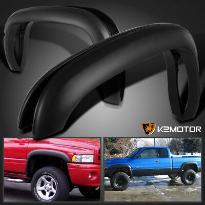 1994-2001 Dodge Ram 1500 2500 3500 Textured Factory Style Wheel Fender Flare 4PC