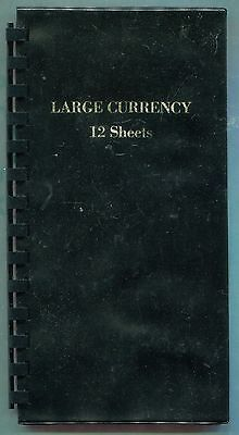 Lot of 8 Large Size Currency Wallets