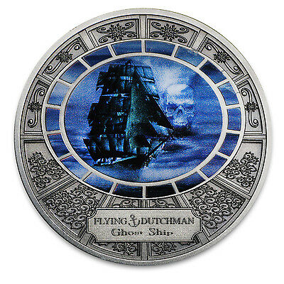 2016 Niue Silver Ghost Ships Flying Dutchmen - SKU #104093