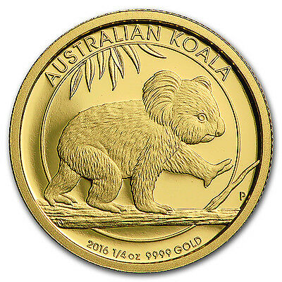 2016 Australia 1/4 oz Gold Koala Proof - SKU #102559