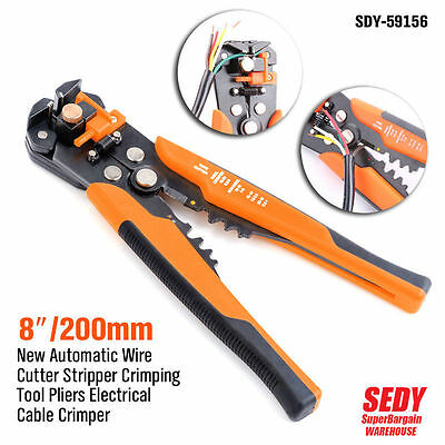 New Automatic Wire Cutter Stripper Crimping Tool Pliers Electrical Cable Crimper