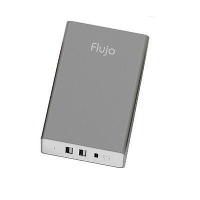 Flujo 3 Port 2x Type A & 1x USB Type-C Smart Charger (Rose Gold) PW-1C-D