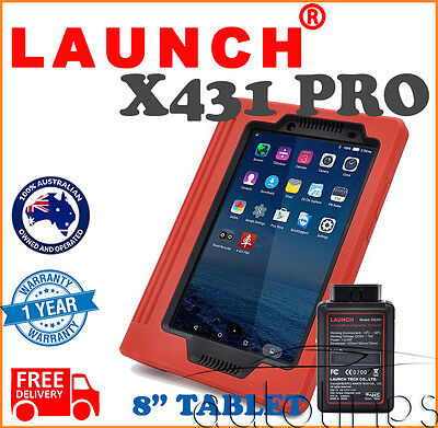 "8"" LAUNCH X431 PRO WiFi Bluetooth Auto Full System Diagnostic Scanner Tool OBD2"