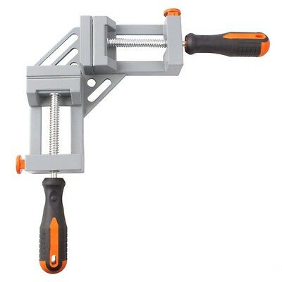 90 Degree Right Angle Folder Clamp Woodworking Carpentry Cabinets Two Handles