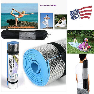 180* 60* 0.6cm Yoga Mat Pad&Bag Leisure Picnic Exercise Fitness