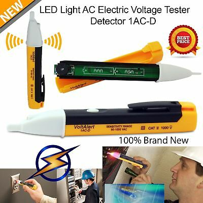 AC Non-Contact Electric Voltage Detector Tester Test Pen 90~1000V LCD HOT