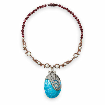 Disney Store Authentic Princess Moana Singing Shell Necklace w/ Sounds Jewelry