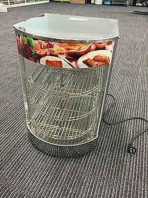 Commercial Curved Top Electric Bench Top Hot Pie / Food Warmer New