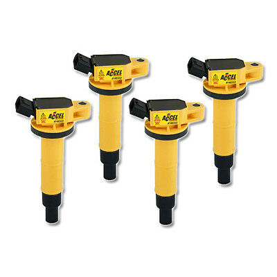 ACCEL Ignition SuperCoil for Toyota Rav4 II 2.0 VVTi 4WD (from 00),4 Pack,140314