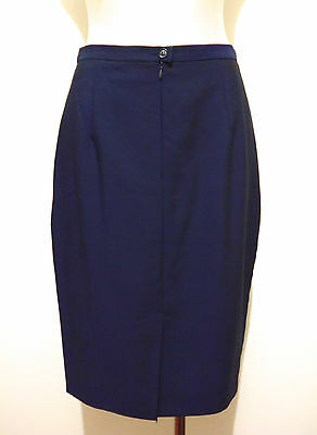 MAX MARA Gonna Donna Lana Lunghette Woman Wool Skirt Sz.M - 44