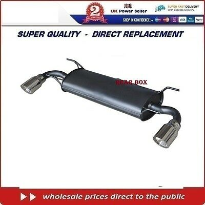 MAZDA RX8 1.3/2.6 WANKEL 2003-on   REAR BACK  EXHAUST BOX