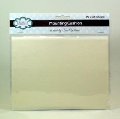 CREATIVE EXPRESSIONS Sue Wilson MOUNTING CUSHION 2 x A5 Sheets CEMOUNT