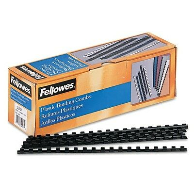 Fellowes Black Plastic Binding Combs for Letter-Size Documents up to 40 - 52507