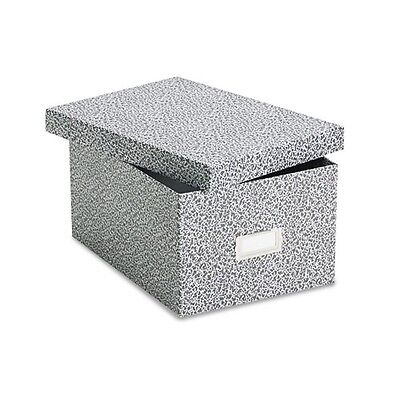 """Oxford Reinforced Board 5"""" x 8"""" Card File With Lift-Off Cover - 40590"""
