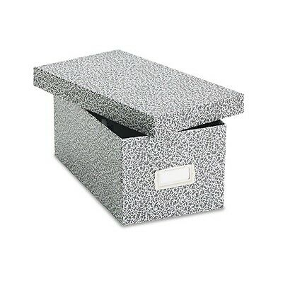 """Oxford Reinforced Board 4"""" x 6"""" Card File With Lift-Off Cover - 40589"""