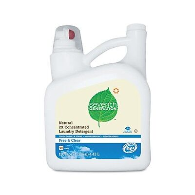 Seventh Generation Free & Clear Natural 2X Concentrate Laundry Liquid - 22803