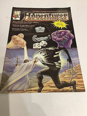 ADVENTURER MAGAZINE No 7 RPG Role Playing Games Call of Cthulhu Runequest 1987