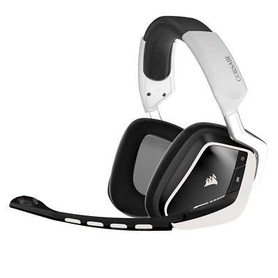 Corsair Gaming VOID Wireless, Dolby 7.1 Wireless RGB Gaming Headset White, 2.4GH