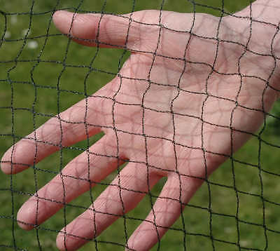 4M WIDE HEAVY DUTY BIRD NETTING For Pond, Garden, Fruit Cage & Crop Protection
